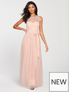 little-mistress-mesh-top-maxi-dress-nude
