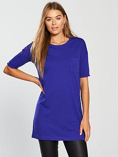 77baf4045ac733 V by Very Pocket 3 4 Jersey Tunic