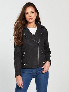 vero-moda-world-short-suedette-jacket-blacknbsp