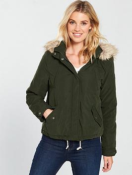 vero-moda-limit-short-parka-coat-khakinbsp