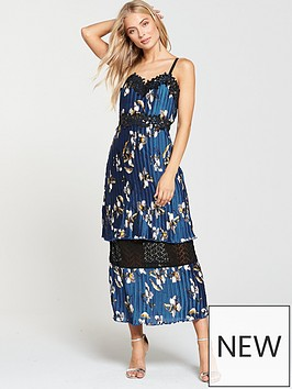 foxiedox-foxiedox-carmella-floral-pleated-midi-dress-multi