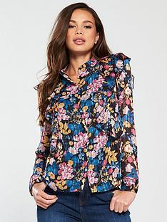 vero-moda-betty-long-sleeve-printed-shirt-blacknbsp