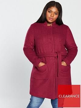 junarose-hasla-collarless-wrap-coat-rumba-red
