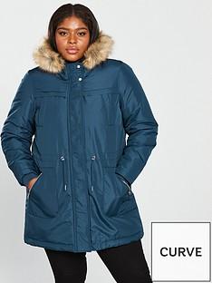 junarose-newzinfa-faux-fur-hooded-parka-coat--tealnbsp