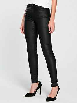 vero-moda-seven-coated-skinny-jeans-black