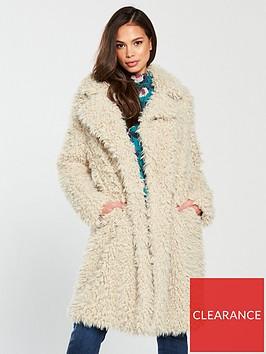 vero-moda-tamar-faux-fur-long-coat-oatmeal