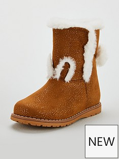 mini-v-by-very-girls-milli-rabbit-pom-pom-boots-tan