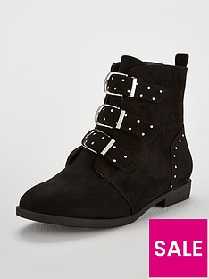 v-by-very-girls-louise-buckle-front-ankle-boots-black