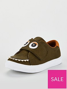 mini-v-by-very-toddler-boys-charlie-monster-teeth-plimsolls-khaki