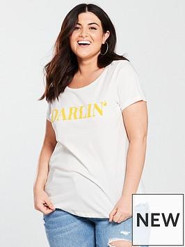 junarose-darlin-logo-t-shirt-white
