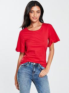 v-by-very-wide-cuff-basic-t-shirt-rednbsp