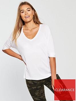 v-by-very-slub-panelled-tshirt