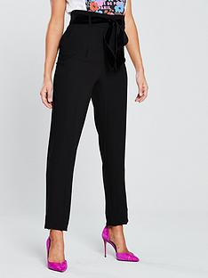 v-by-very-belted-tapered-leg-trouser-black