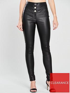 v-by-very-coated-high-waist-trouser-black