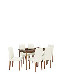 morris-120-cm-solid-wood-and-glass-dining-table-6-chairs-creamwalnut