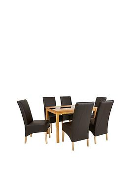 mccauley-120-cm-solid-wood-and-glass-dining-table-6-chairs-brownoak