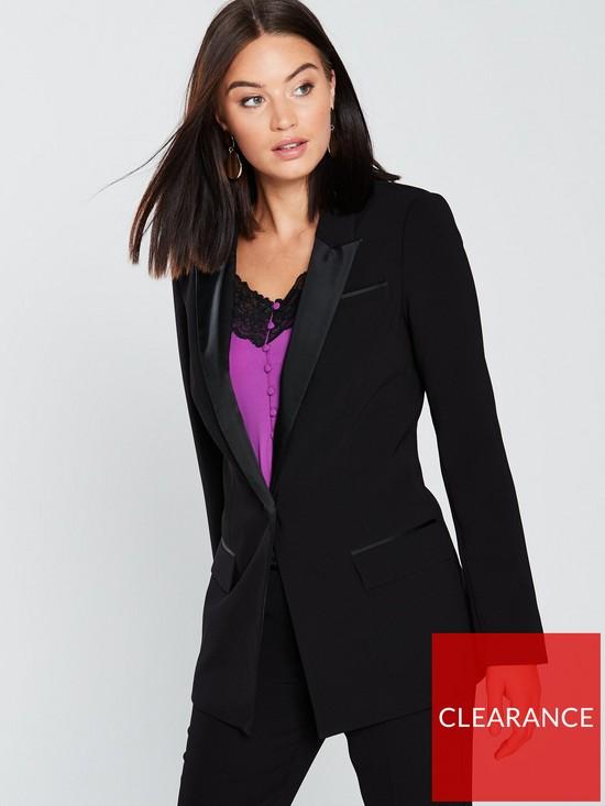 4abea8ab0a7077 V by Very Tux Suit Jacket - Black