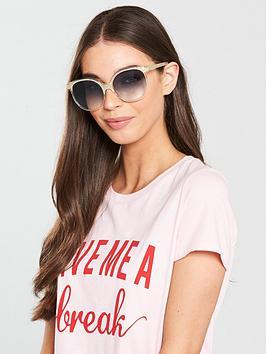 Chloe Cateye Sunglasses - Pearl/Champagne