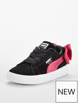puma-suede-bow-infant-trainer