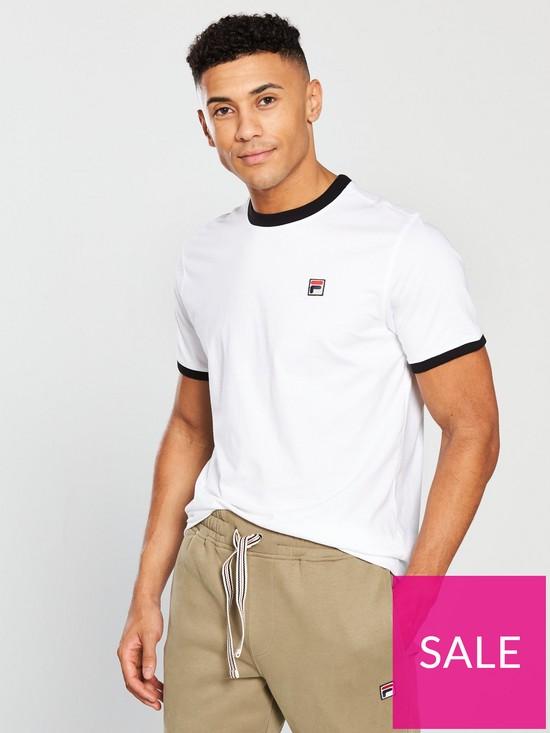 7a3ae48afa Fila Marconi Ringer T-Shirt - White | very.co.uk