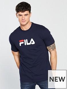 fila-black-line-eagle-logo-t-shirt