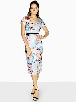 little-mistress-bodycon-midi-dress-printed