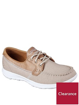 skechers-go-walk-lite-canvas-boat-shoe