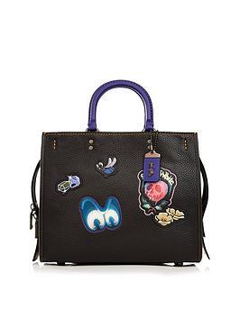 coach-disney-x-coach-1941-dark-fairy-tale-patches-rogue-bag-black