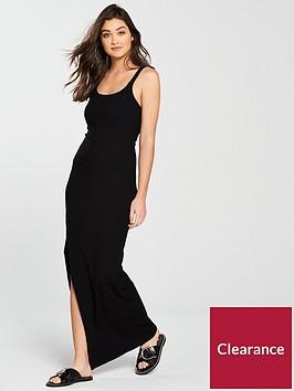 river-island-bodycon-maxi-dress-black