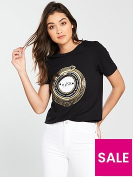river-island-foil-print-t-shirt