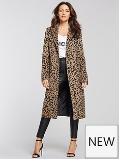 michelle-keegan-edge-to-edge-coat-leopard-print