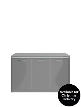 consort-indy-3-door-ready-assembled-gloss-largenbspsideboard-with-led-strip-lights-grey