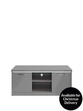 consort-indy-ready-assembled-gloss-tv-unit-with-led-lights--nbspgrey-fits-up-to-55-inch-tv