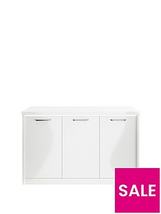 consort-indy-3-door-ready-assembled-gloss-largenbspsideboard-with-led-strip-lights-white