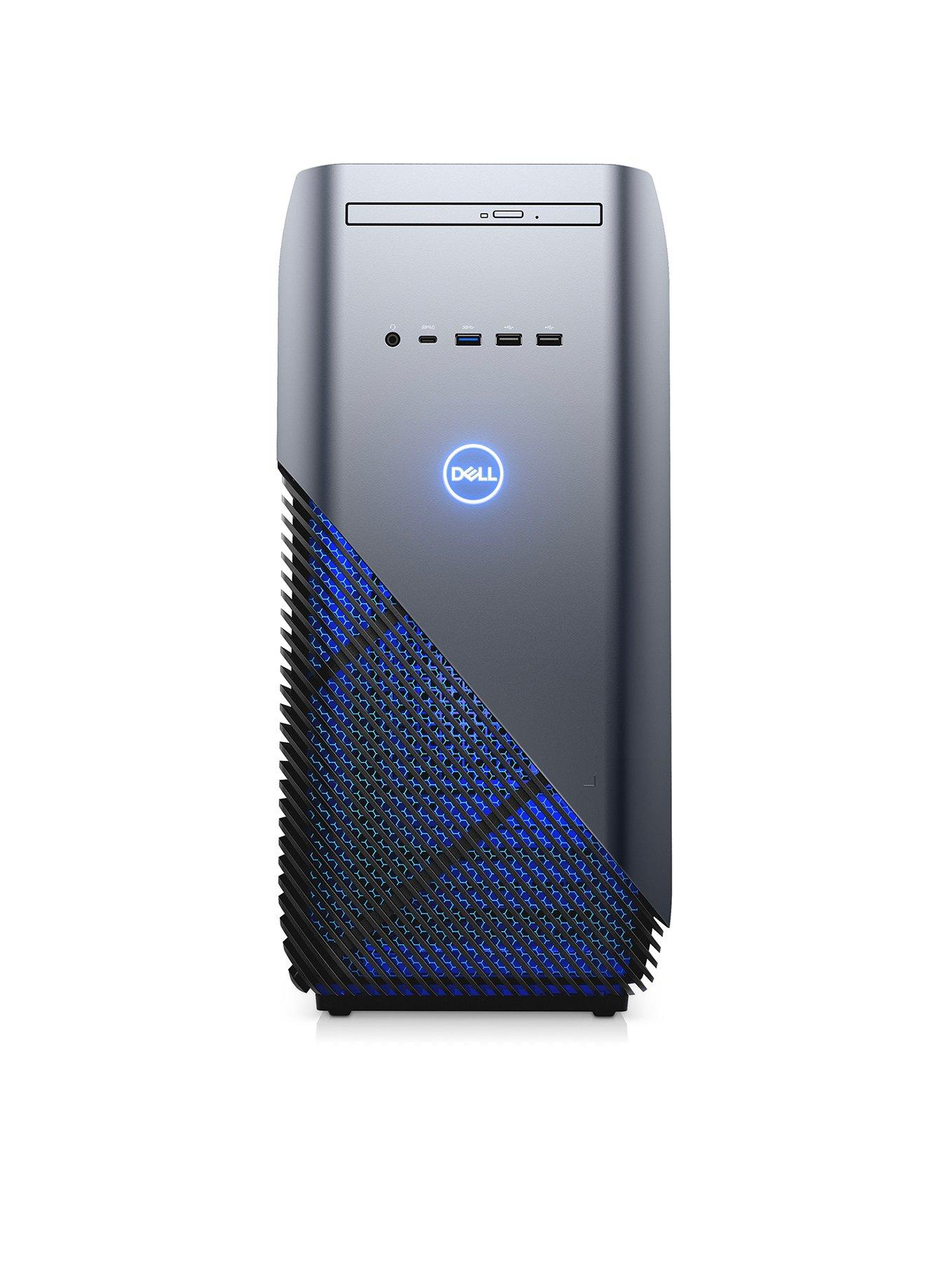 Dell Inspiron 5000 Gaming Series, Intel® Core™ i5-8400 Processor, 8GbDDR4 RAM, 1TbHDD & 128GbSSD, Gaming PC with NVIDIA GeForce GTX 1060 Graphicswith GAMING SOFTWARE PACK