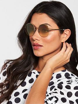 burberry-bronze-round-sunglasses