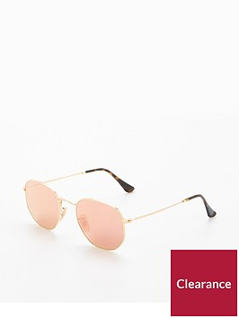 ray-ban-rayban-hexagonal-pink-sunglasses