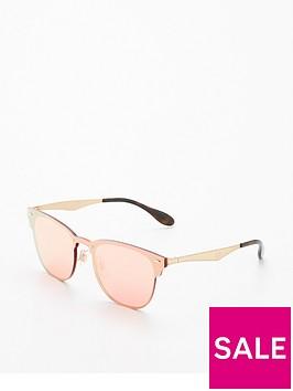 ray-ban-rayban-blaze-clubmaster-pink-sunglasses