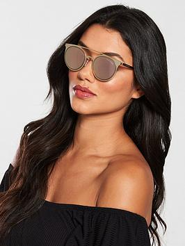 Emporio Armani Brow Bar Sunglasses - Bronze