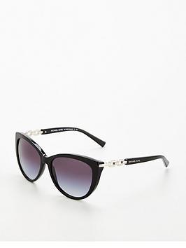Michael Kors Gstaad Cateye Sunglasses - Black