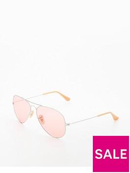 ray-ban-rayban-pink-large-aviator-sunglasses