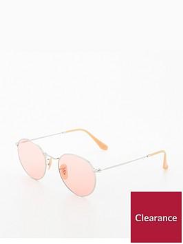 ray-ban-rayban-round-metal-pink-sunglasses