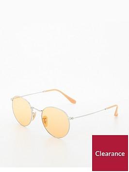 ray-ban-rayban-round-metal-yellow-sunglasses