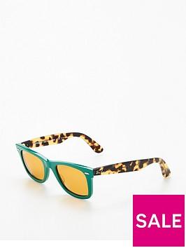ray-ban-rayban-green-wayfarer-sunglasses