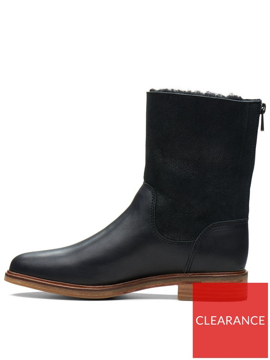 8c5081de33eb84 ... Clarks Clarkdale Axel Calf Boot - Black. View larger