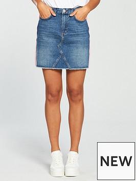 v-by-very-hybrid-mini-skirt-mid-wash