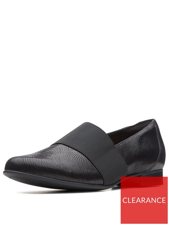 8f384311f1ef8 Clarks Un Blush Lo Loafer - Black | very.co.uk