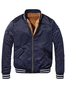 tommy-hilfiger-girls-reversible-faux-fur-jacket-multi