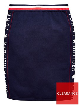 tommy-hilfiger-girls-logo-skirt-navy