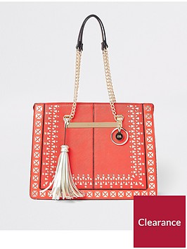 river-island-gold-chain-tote-bag-red